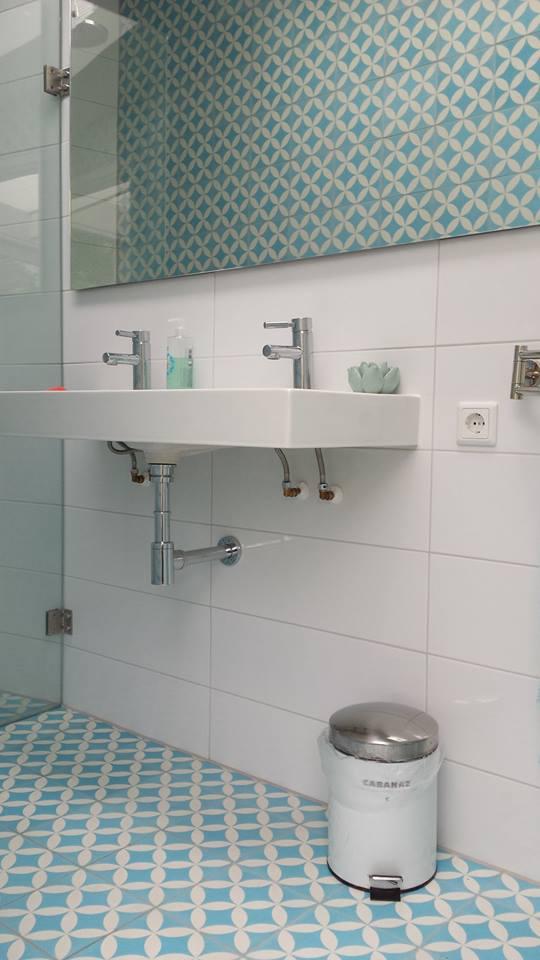 łazienka turkusowa