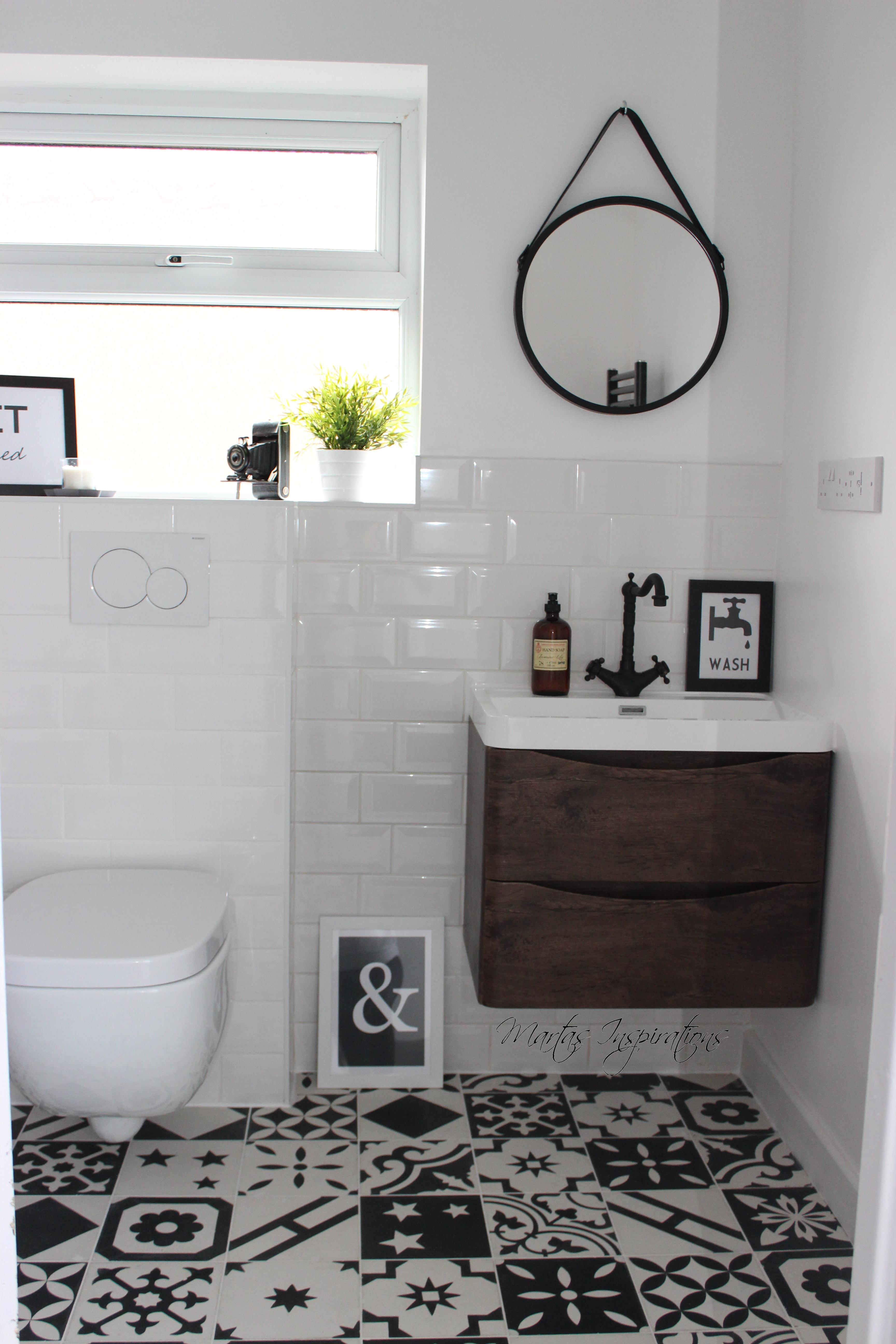 Minimalizm I Płytki Cementowe W łazience Płytki Cementowe