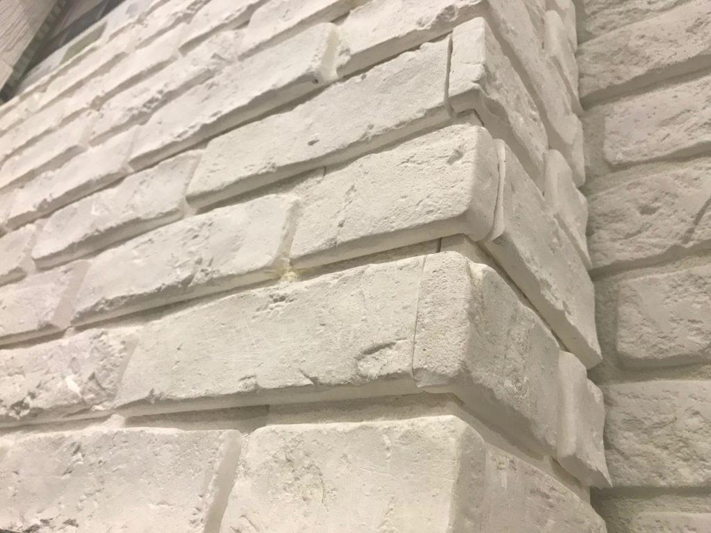 Płytki cegłopodobne białe