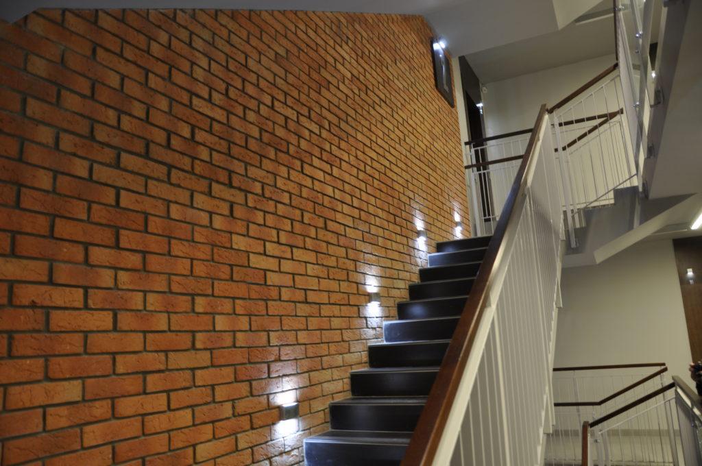 Płytki cegły loft
