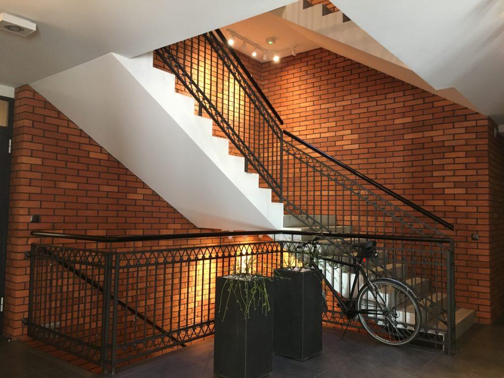 płytka z cegły korytarz