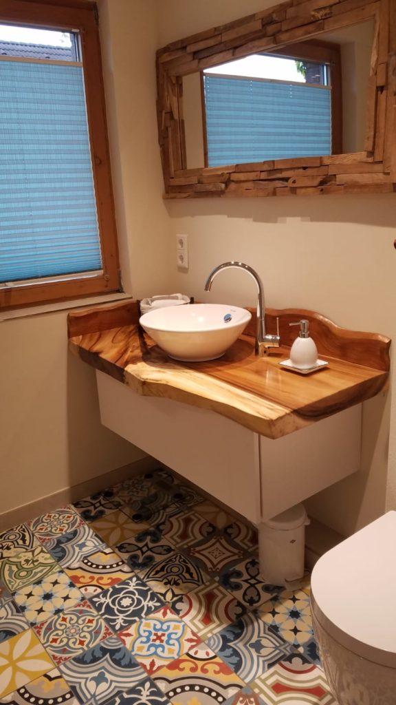 łazienka patchwork