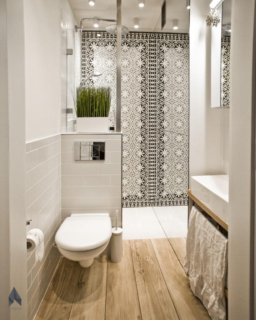 Płytki marokańskie prysznic
